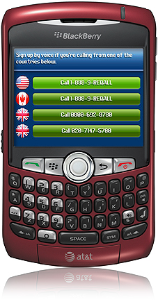 reQall Blackberry